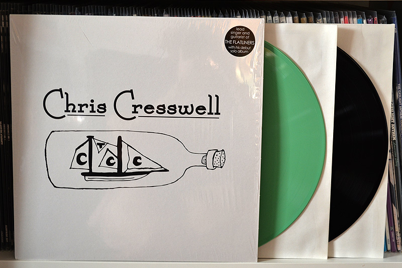 Chris Cresswell: One Week Record - Spring green + black vinyl