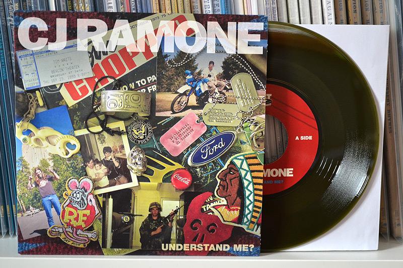 CJ Ramone: Understand Me? - Dark green vinyl