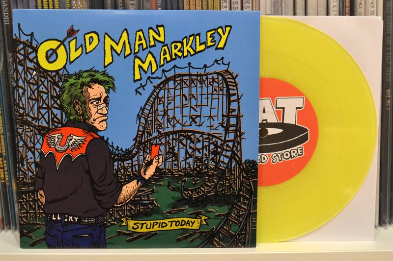 OLD MAN MARKLEY: STUPID TODAY - Translucent yellow vinyl