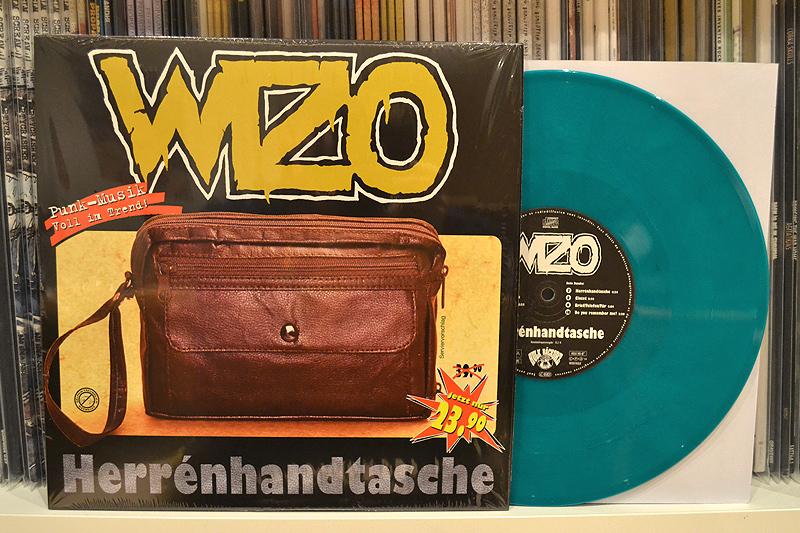 WIZO: HERRENHANDTASCHE 10'' - Green marbled vinyl
