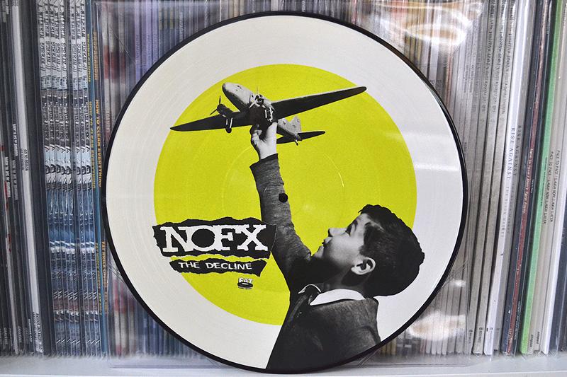 NOFX: THE DECLINE - picture disc
