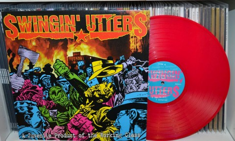 Swingin' Utters: A Juvenile Product Of The Working Class LP – Pink vinyl