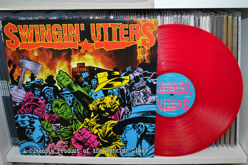 Swingin' Utters: A Juvenile Product Of The Working Class LP - Pink vinyl