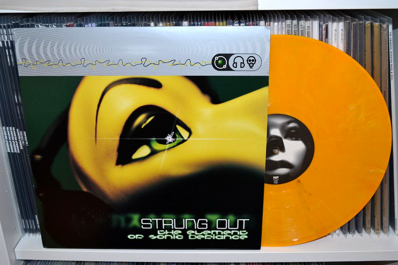Strung Out: The Element Of Sonic Defiance 12'' - Yellow marbled