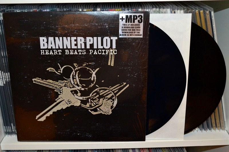 Banner Pilot: Heart Beats Pacific LP - Translucent dark blue vinyl