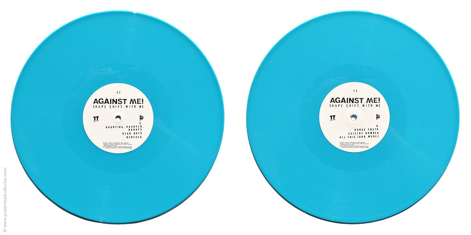 Against Me Punk Vinyl Collector