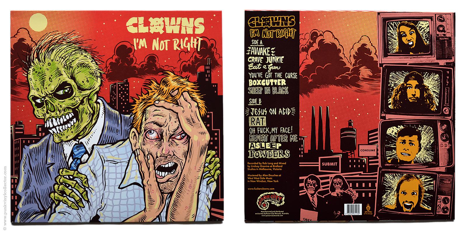 Clowns Punk Vinyl Collector