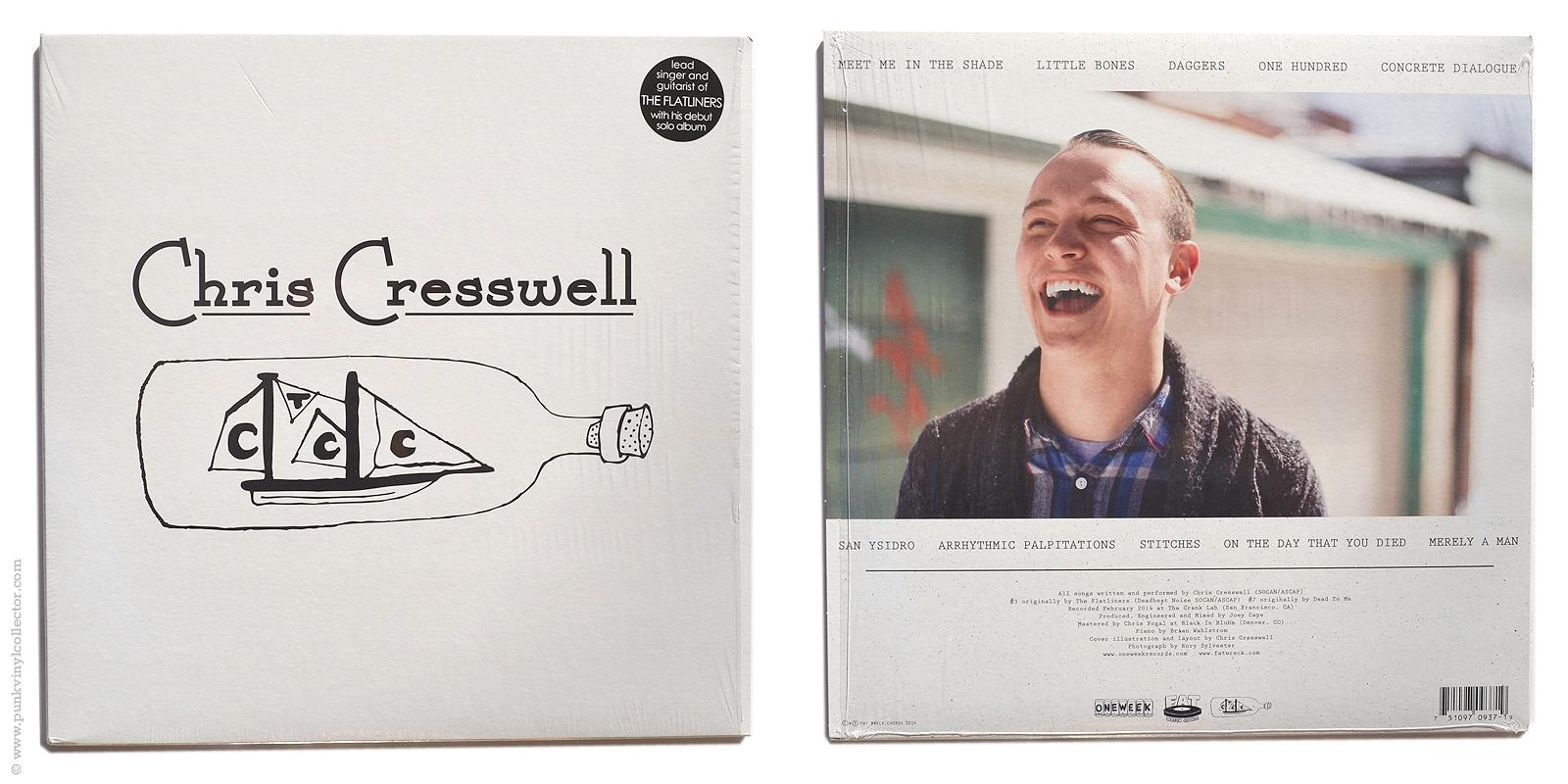 Chris Cresswell Punk Vinyl Collector