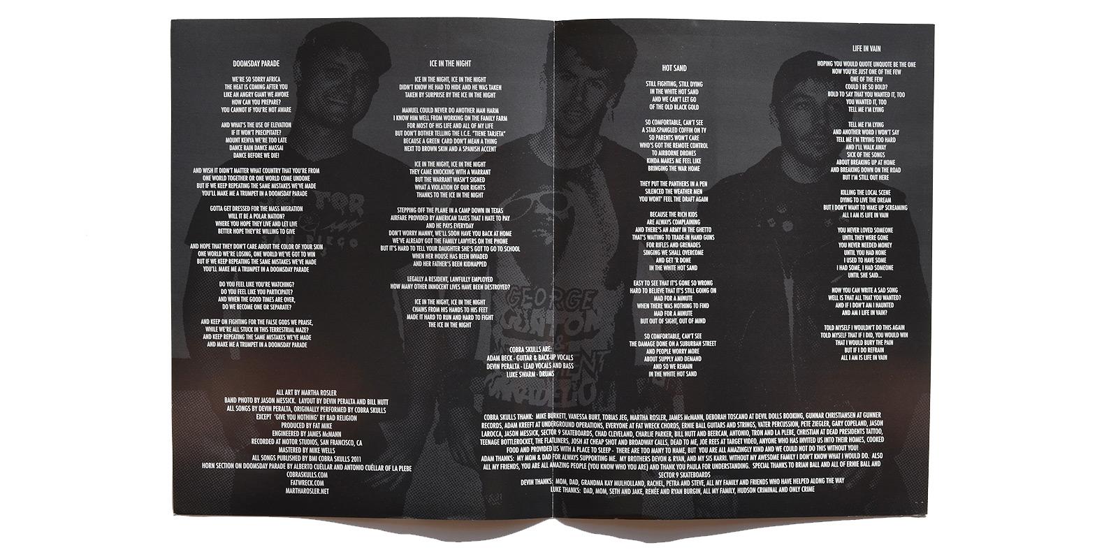 Cobra Skulls – Punk Vinyl Collector