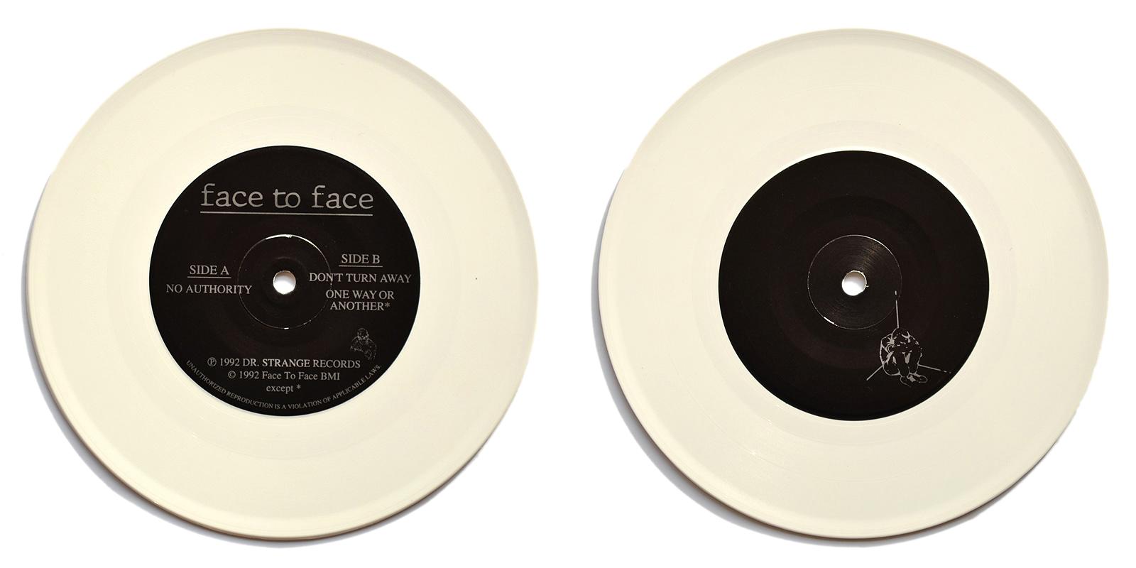 Face To Face Punk Vinyl Collector