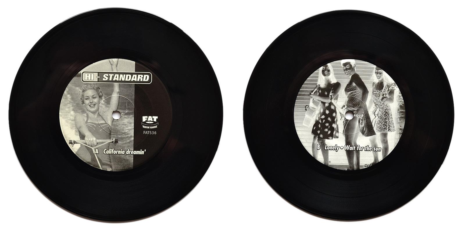 Hi standard punk vinyl collector black vinyl a b side hexwebz Image collections