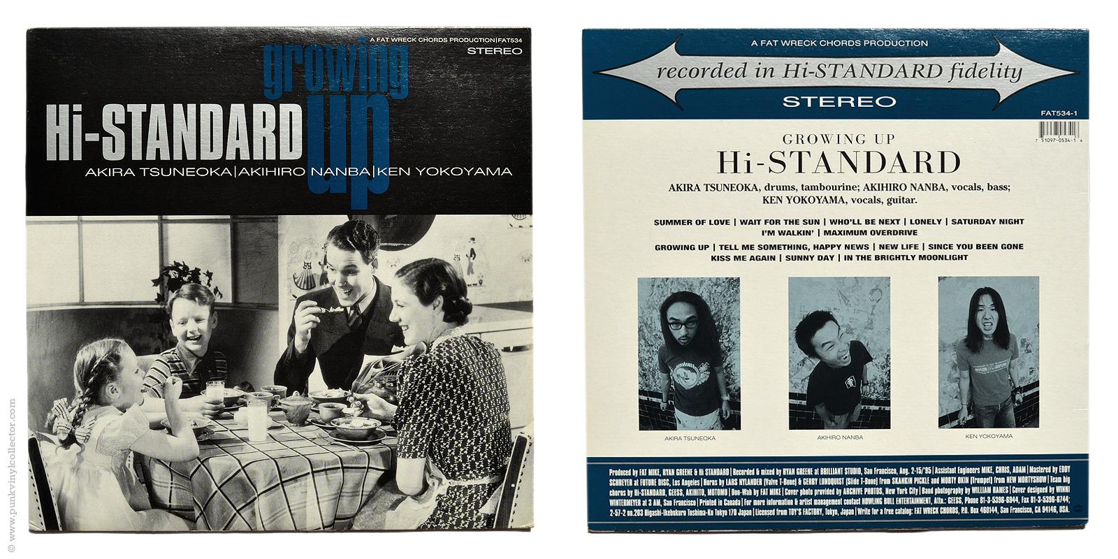 Hi Standard Punk Vinyl Collector