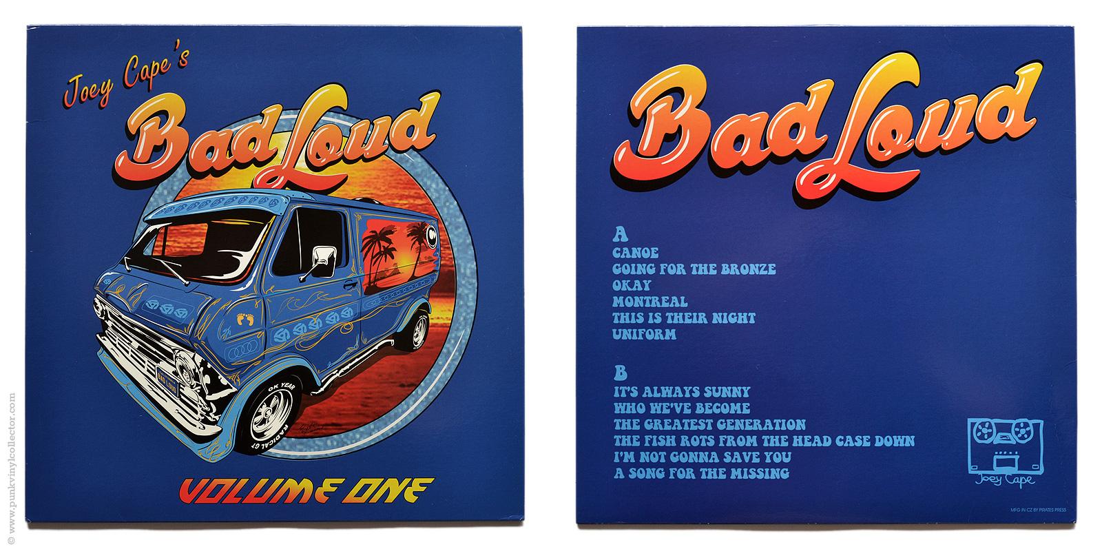 Joey Cape S Bad Loud Punk Vinyl Collector