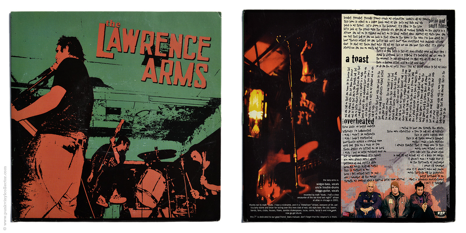 The Lawrence Arms Punk Vinyl Collector