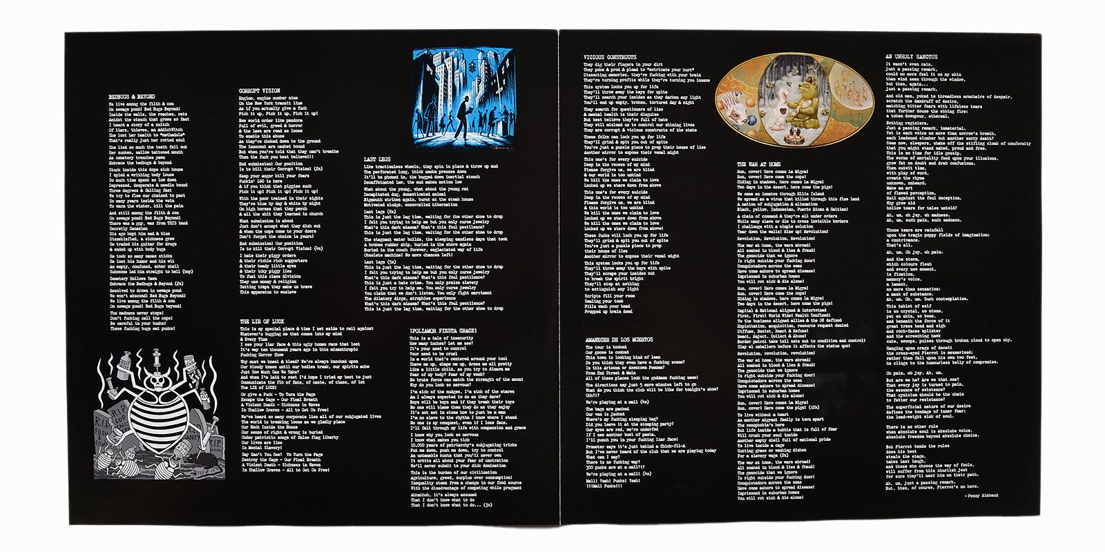 Left 246 Ver Crack Punk Vinyl Collector