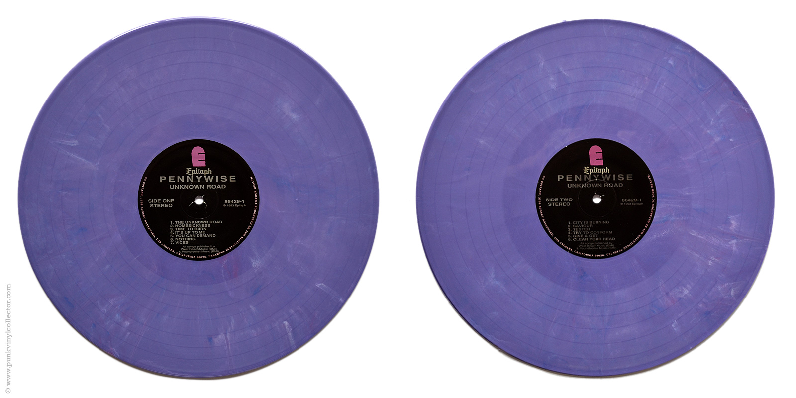 Pennywise Punk Vinyl Collector