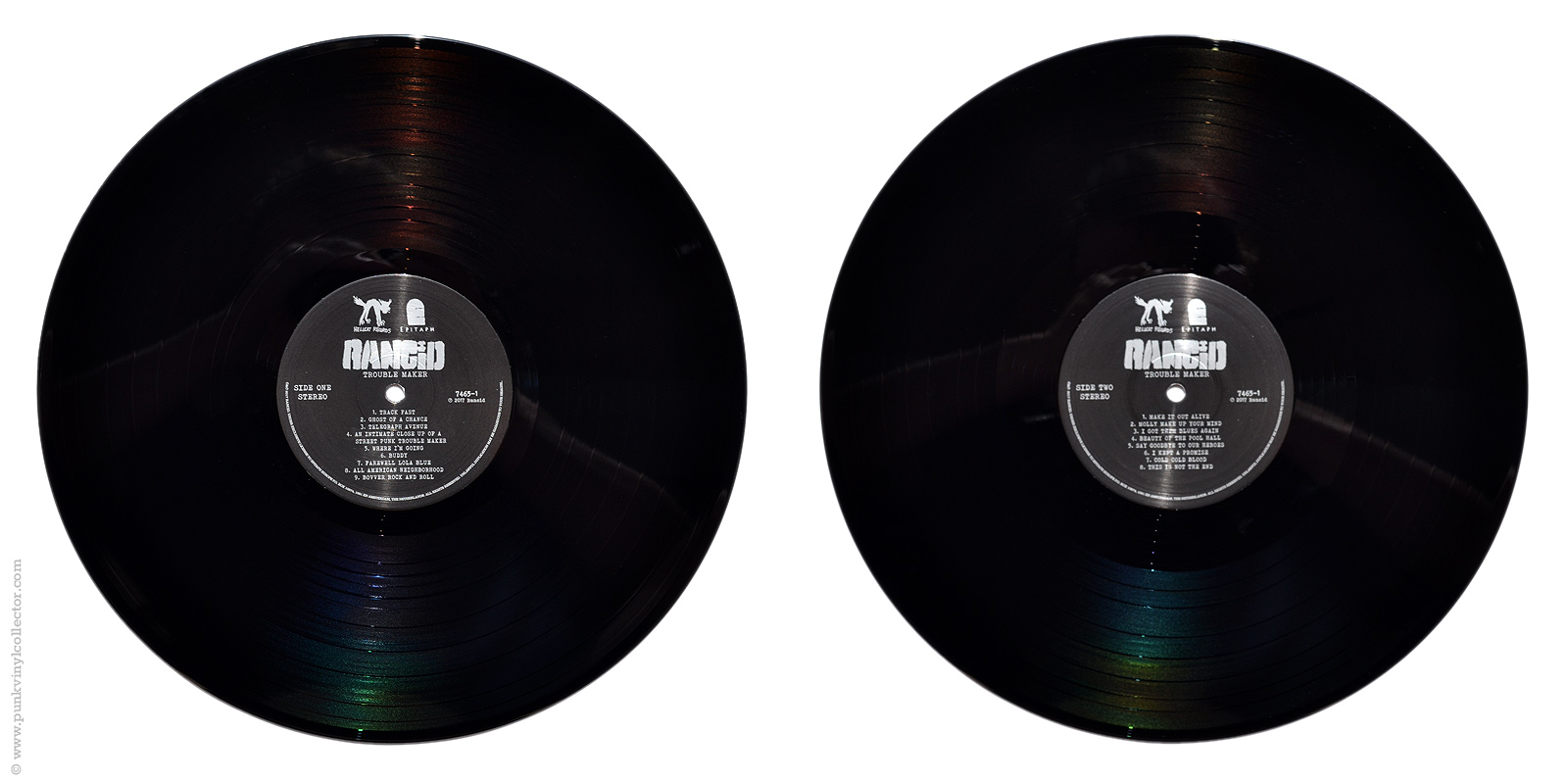 Rancid Punk Vinyl Collector