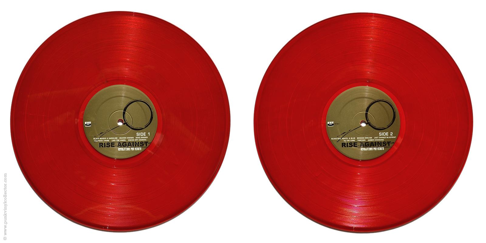 Rise Against Punk Vinyl Collector