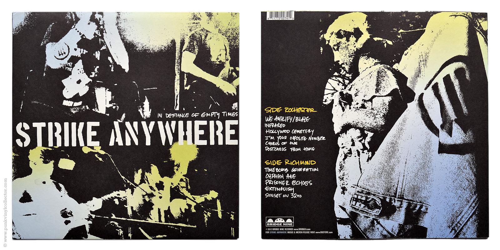 Strike Anywhere Punk Vinyl Collector