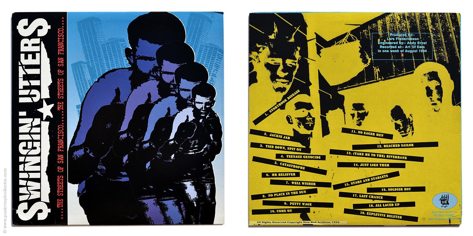 Swingin Utters Punk Vinyl Collector